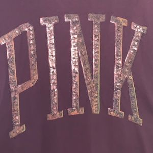 "PINK Victoria's Secret Tops - VS PINK """"BLING T-shirt"